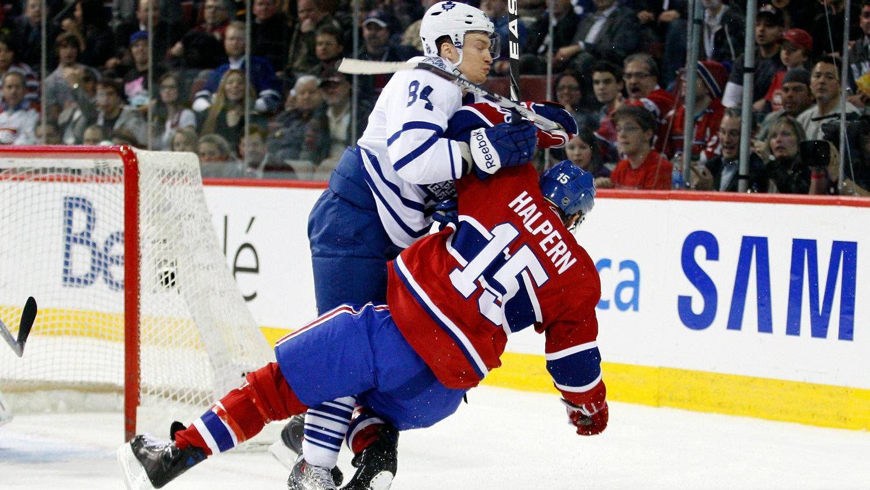 NHL Body-checking